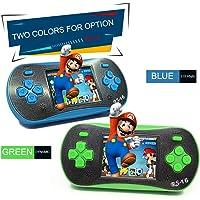 CGTOLOS Consola de Videojuegos portátil Reproductor de Videojuegos portátil de 8 bits Incorporado 260 Juegos clásicos - Verde