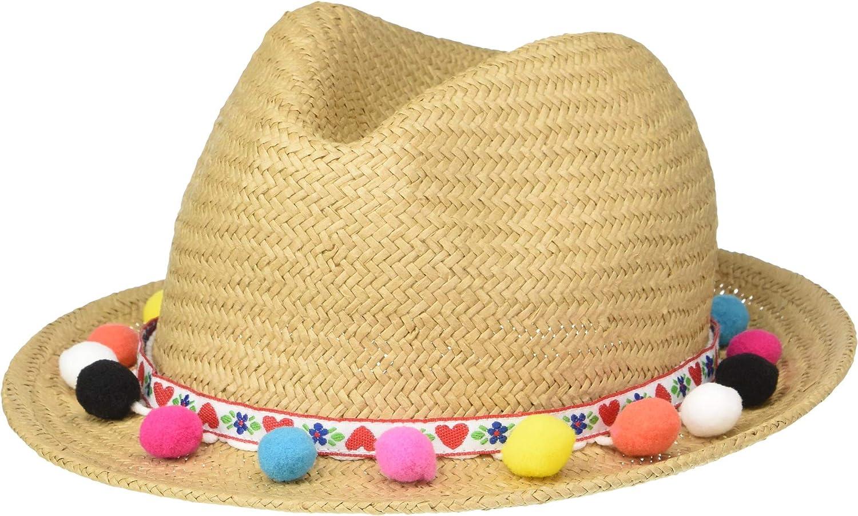 5-7 Little Kids Infant//Toddler//Little Kids//Big Kids Natural LG Appaman Kids Baby Girls Sedona Hat