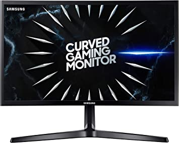 Samsung C24RG52 - Monitor Curvo Gaming de 24 Full HD (1920x1080, 4ms, 144 Hz, FreeSync, Flicker-Free, LED, VA, 16:9, 3000:1, 1800R, 250 cd/m², 178°, HDMI, Base en V) Negro: Amazon.es: Informática