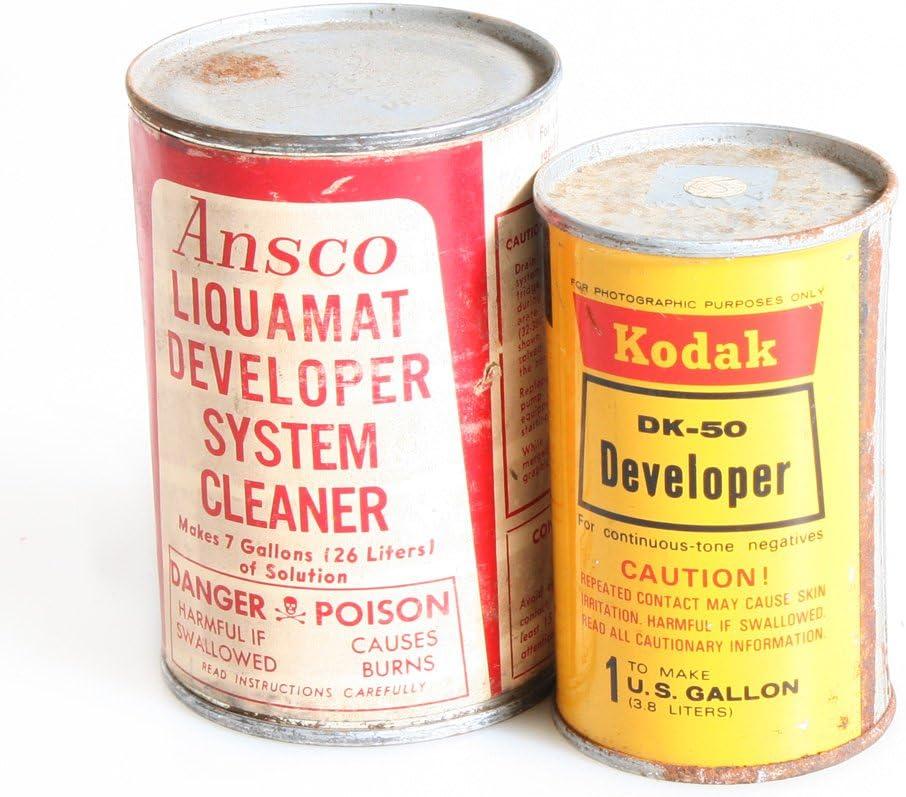 DK-50 Film Developer Powder and Developer Cleaner Set of 2 CANS