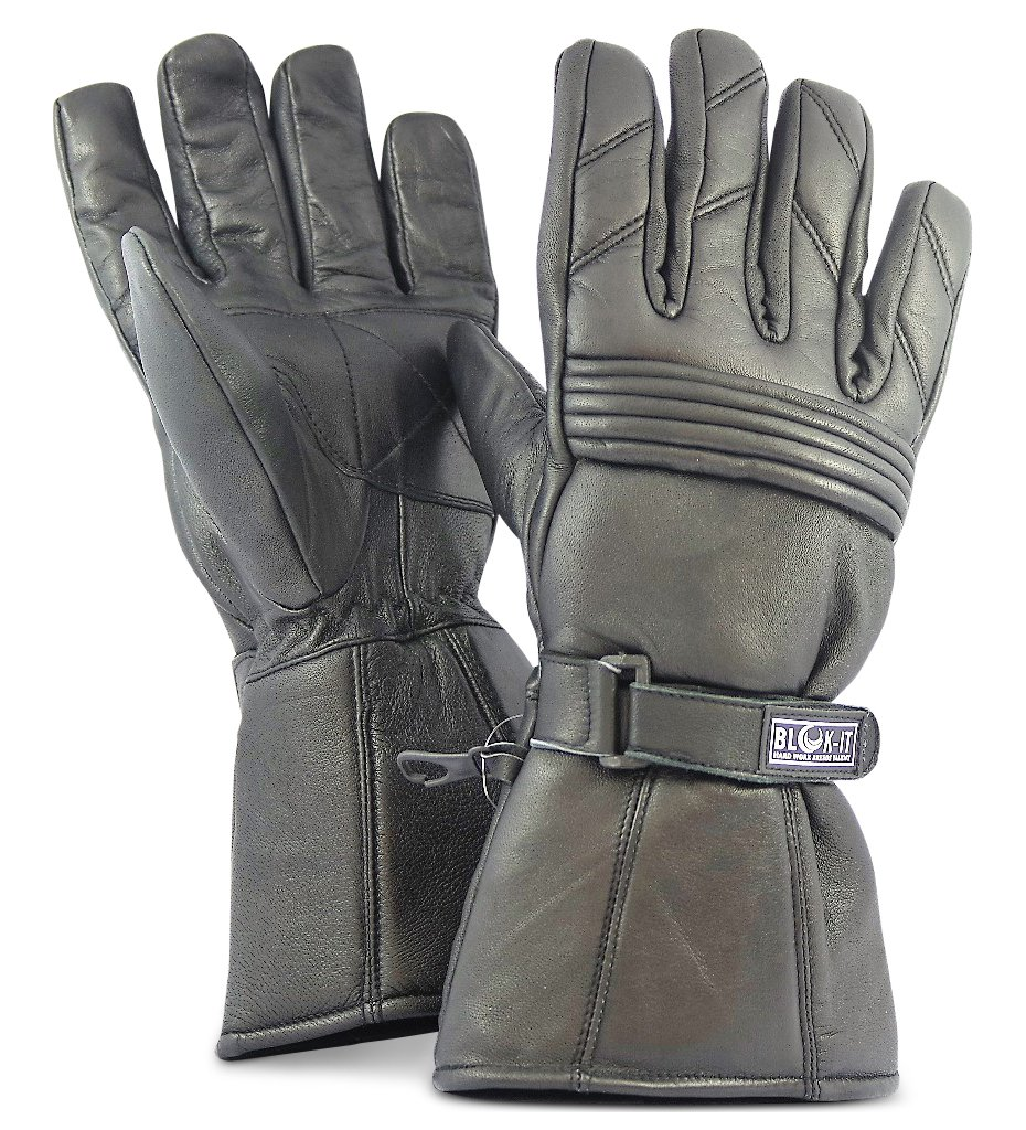 Motorcycle leather gloves amazon - Amazon Com Full Leather Motorcycle Gloves By Blok It Gloves Are Thermal 3m Thinsulate Material For Bikers Motorcycles Motorbikes Sports Outdoors