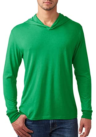 Amazon.com: Next Level mens Triblend Long-Sleeve Hoodie (N6021 ...