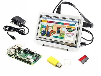 Amazon.com: Módulo Waveshare modelo B de Raspberry Pi 3 + ...