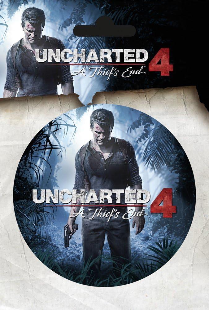 GB Eye Sta Uncharted 4-A - Adhesivo para el extremo del ladrón: Amazon.es: Juguetes y juegos