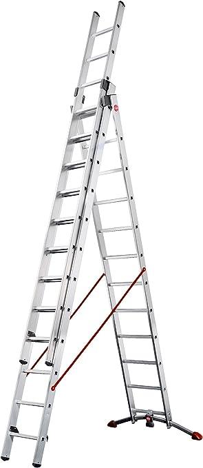 Hailo 9312-501 Escalera multifunción, plateado: Amazon.es: Bricolaje y herramientas