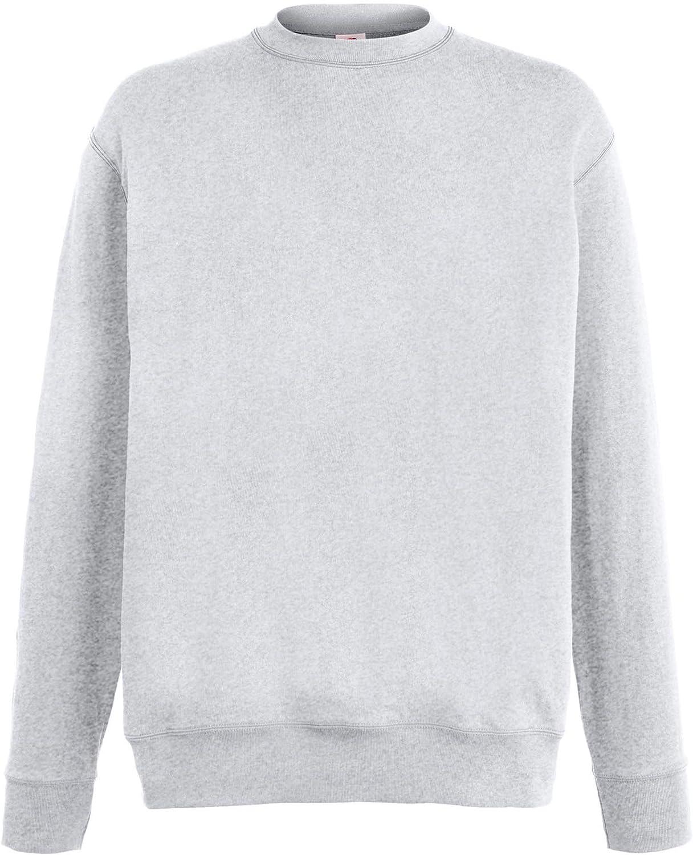Fruit of The Loom SS926 Lightweight Set-in Sweatshirt Blank Plain