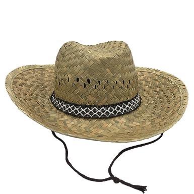 WORK AND STYLE Django Western Straw Hat Straw 695a848b6e8