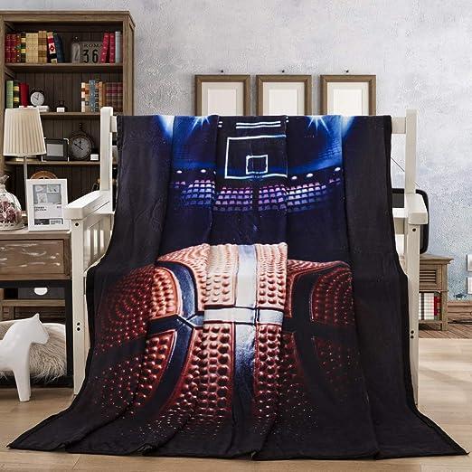 Sticker superb Niño Hombre 3D Fútbol Baloncesto Azul Negro Lanzar ...