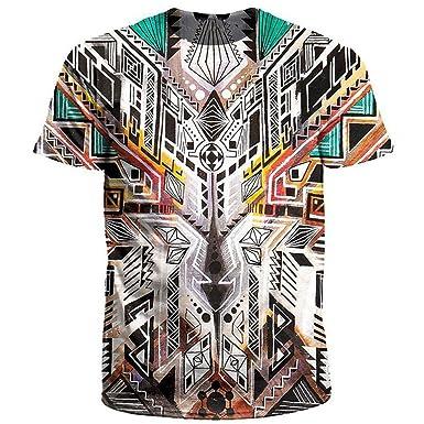 Owl Medicine 3D T Shirt Men Women Short Sleeve O Neck Summer Tops