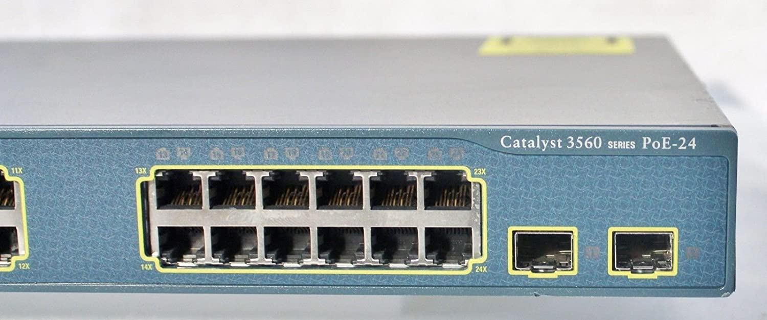 Cisco Catalyst 3560 Series Poe 24 Port Switch Ws C3560 3560g And Do Routing Lan Switching 24ps S Computers Accessories