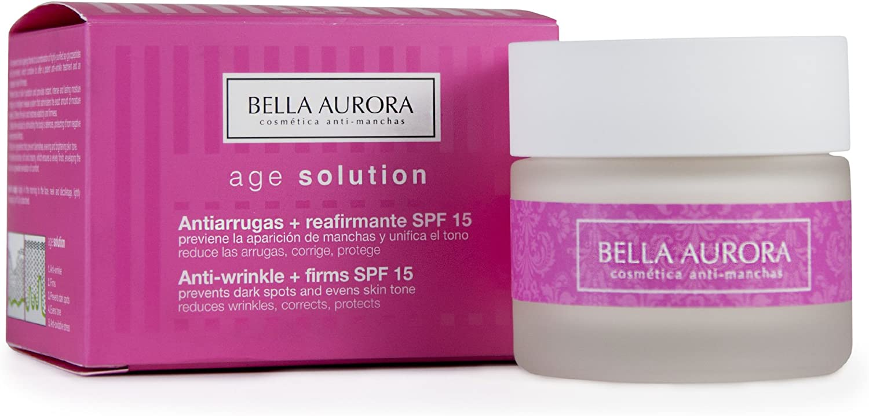BELLA AURORA crema antiarrugas spf 15 tarro 50 ml: Amazon.es: Belleza