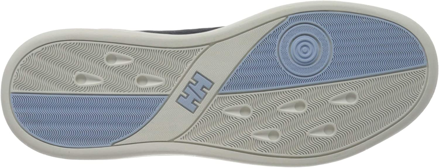 Helly-Hansen Women's Boating Shoes Blue Navy Off White Coast Blue 597