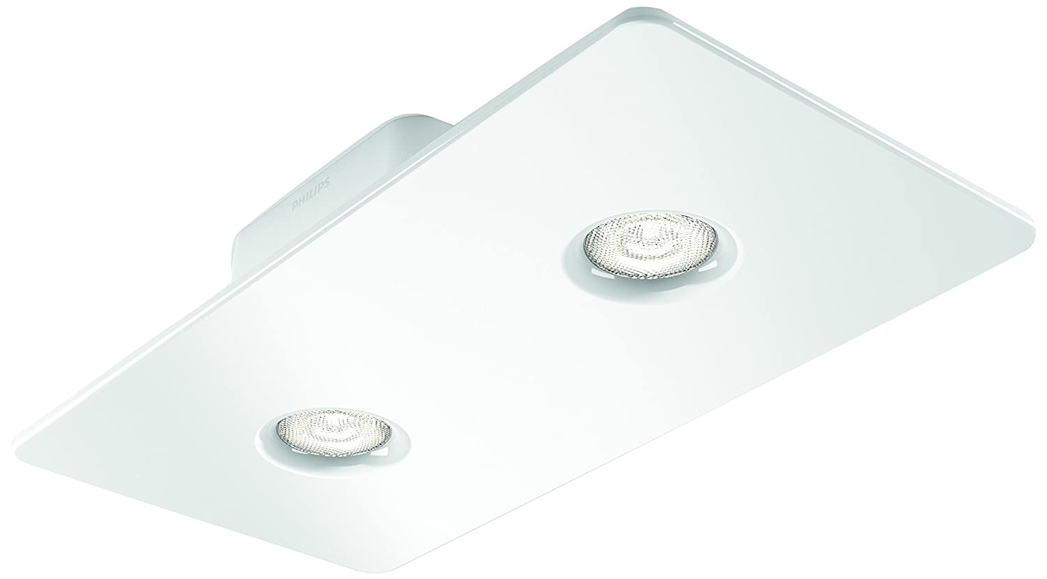 Philips InStyle LED-Spot Magna, 1000lm, weiß, Metall, 4.5 W, 2-flammig