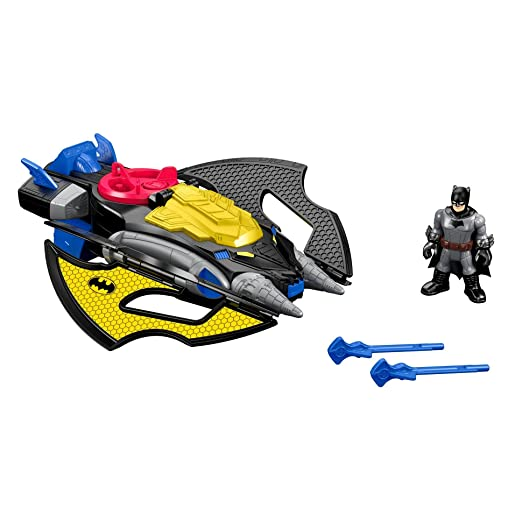 2 opinioni per Fisher-Price Imaginext DC Super Friends Batwing Action Figure