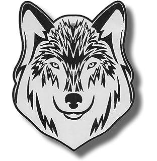 Aufnäher Wolf 9 x 8 cm Patch
