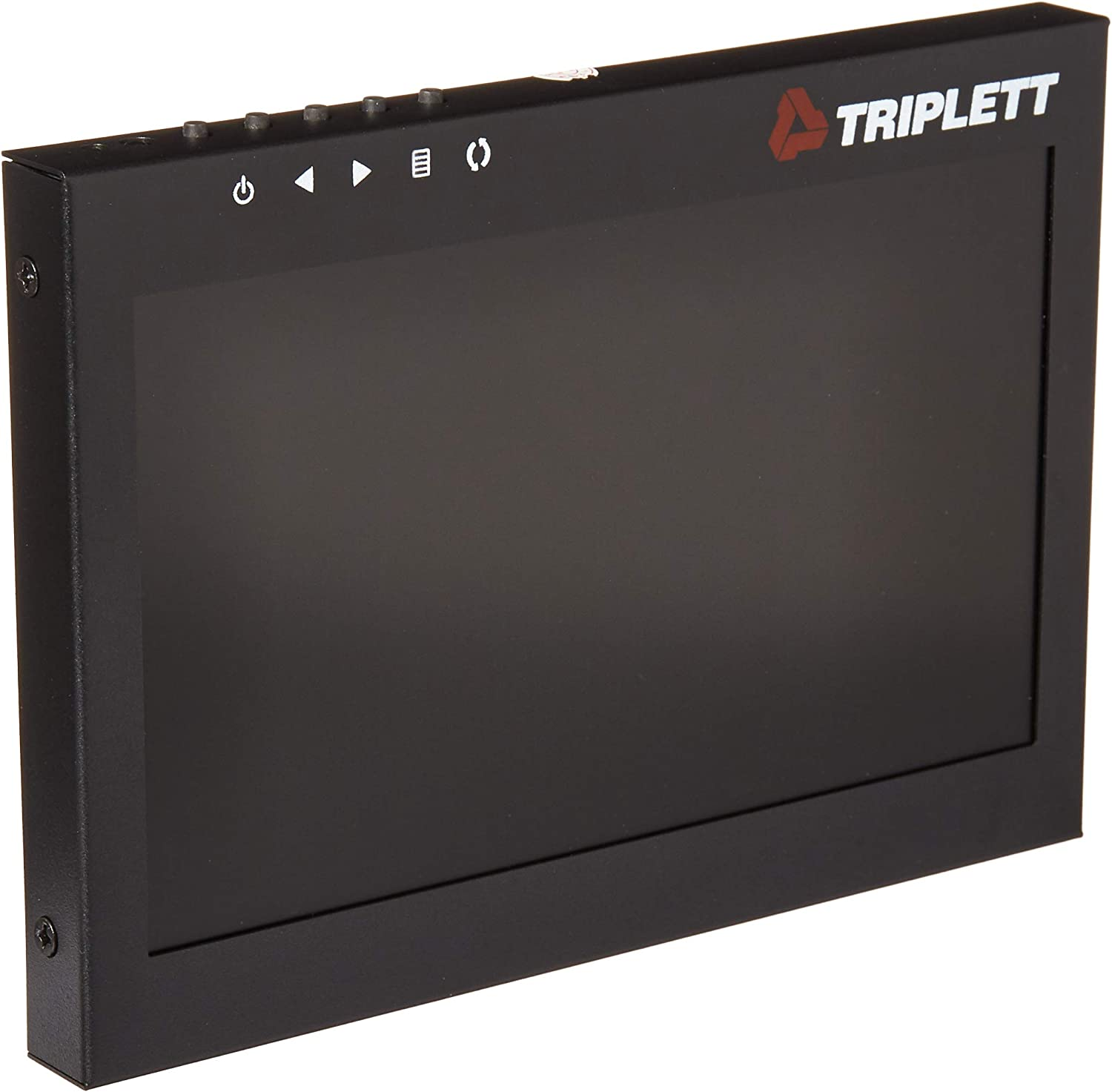 Triplett Multi-Purpose 7 1080P 4:3 HD LED Monitor with Carry Case Use as Monitor for Computers DVRs Laptops AV //BNC //VGA //HDMI - DSLR Cameras /& Raspberry PI Projects Security Cameras HDCM