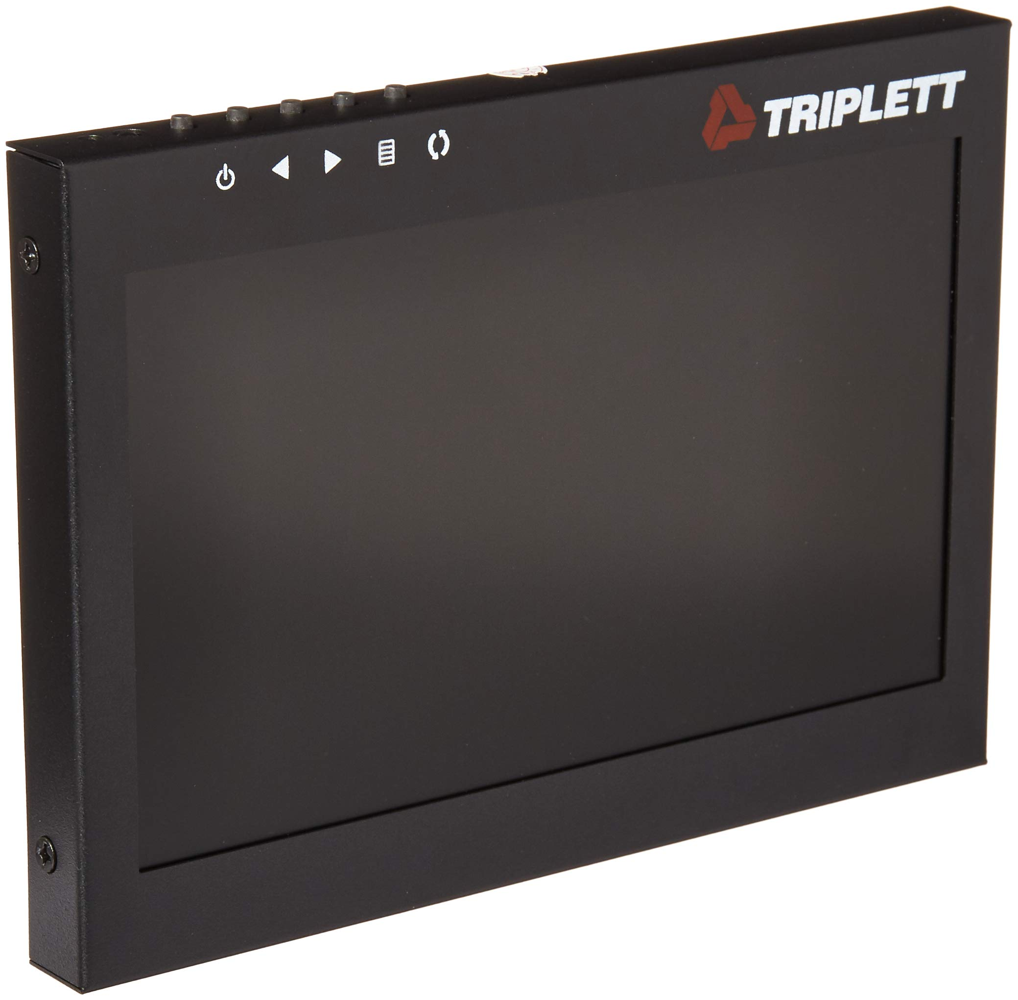 Triplett Multi-Purpose 7'' 1080P 4:3 HD LED Monitor with Carry Case - Use as Monitor for Computers, Laptops, Security Cameras, DVRs, DSLR Cameras & Raspberry PI Projects | AV/BNC/VGA/HDMI - (HDCM)