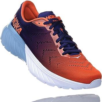 hoka Zapatillas Mach 2 Azul/Naranja Talla 45 1/3: Amazon.es: Deportes y aire libre