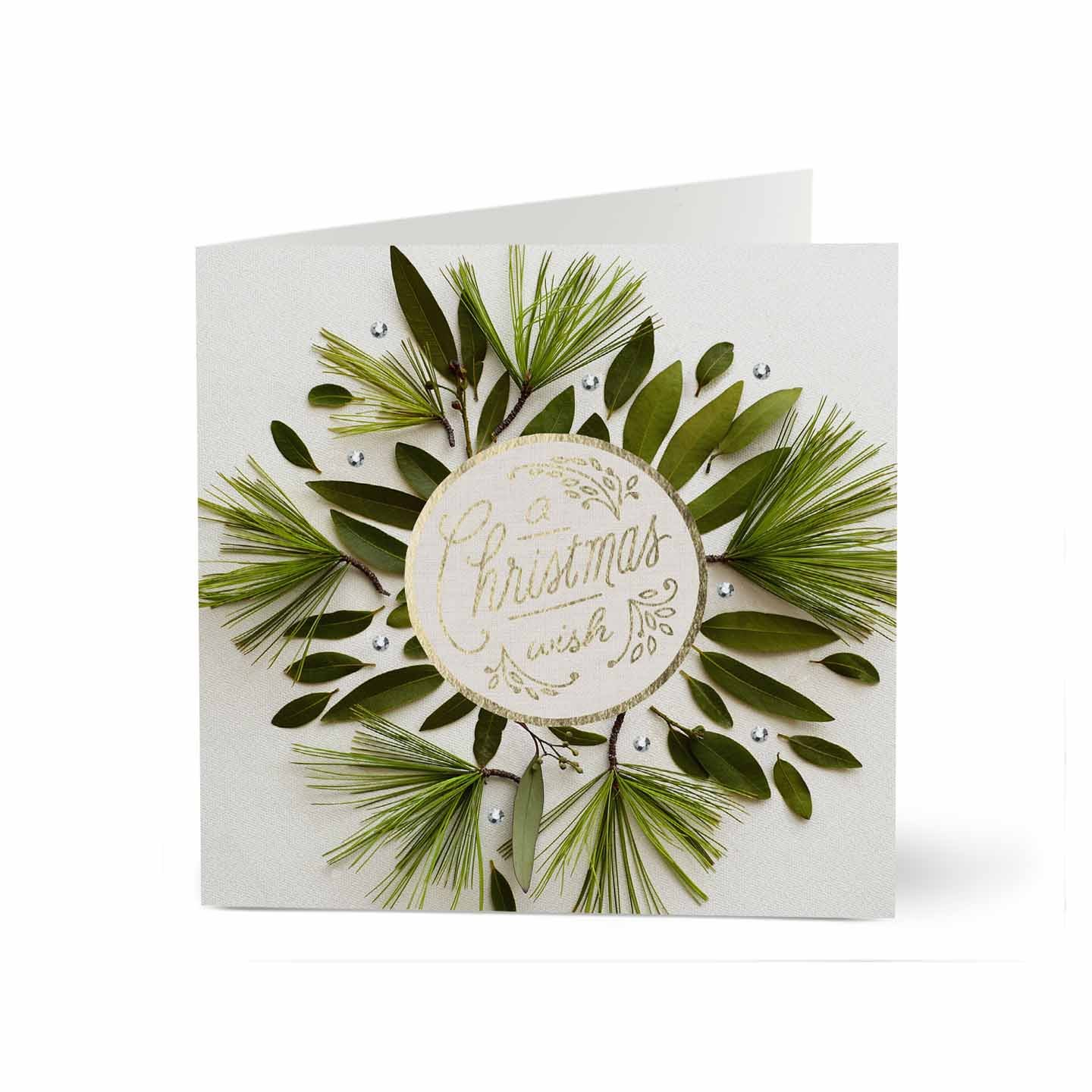 Hallmark business christmas card for employees and customers a hallmark business christmas card for employees and customers a wreathed wish pack of 25 greeting cards m4hsunfo