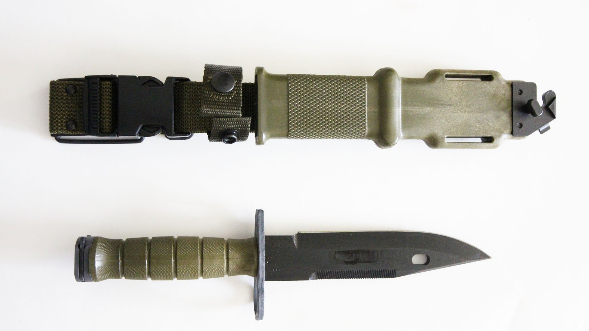 Tri-Technologies Official US Military Army M9 Bayonet Knife Made in USA