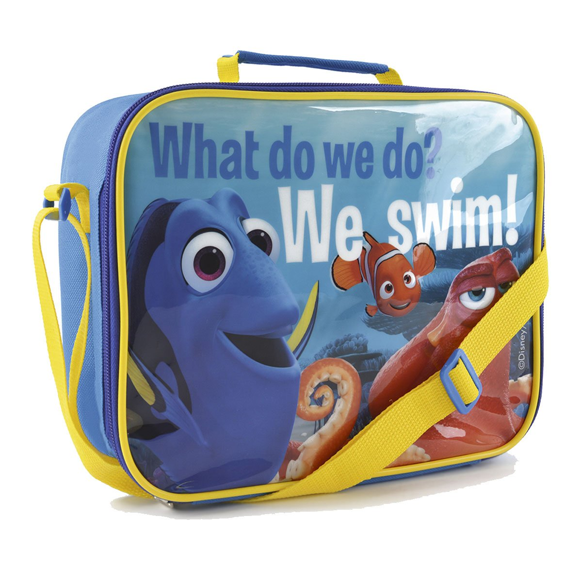 IMTD Boys Disney Finding Dory The Movie Marlin Nemo Lunchbag Back to School Insulated Lunch Picnic Bag Finding Dory Lunch Bag