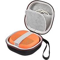 LuckyNV EVA que lleva el estuche protector del estuche de la bolsa de la caja de altavoz para el altavoz Bose SoundLink Micro Bluetooth-espacio adicional para los cables