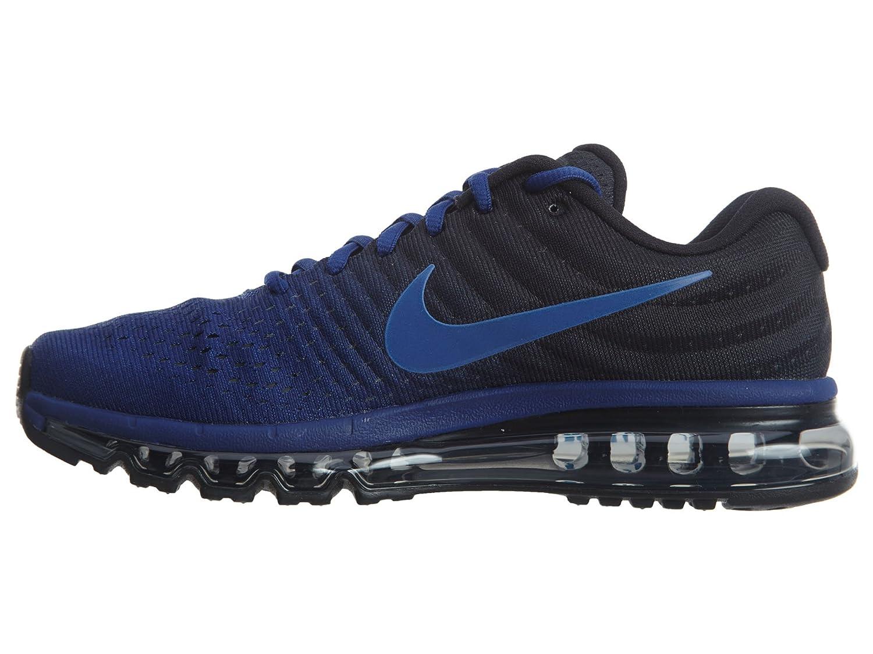 c4fc97b7da Nike Men s Air Max 2017 Running Shoe Deep Royal Blue/Hyper Cobalt/Black 9  D(M) US: Buy Online at Low Prices in India - Amazon.in
