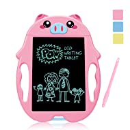 Birthday Present for 2-6 Years Old Girl , Boogie Doodle Board Magnetic Doodle for Kids Best Gifts for 5-12 Year Old Boys Girls Writing Tablet Doodle Board for Kids Toddlers Pink