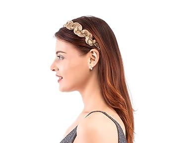 Amazon.com   Merrylight Fashion Women Girls Hair Braids Braided Hair  Headband Hairpieces (Mixed Blonde227 863)   Beauty 2f9daebec87
