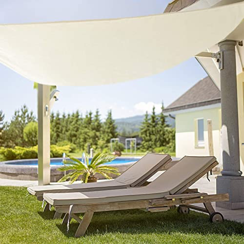BOTINDO Sun Shade Sail Waterproof 12' x 16' Rectangle Canopy UV Awning Cover