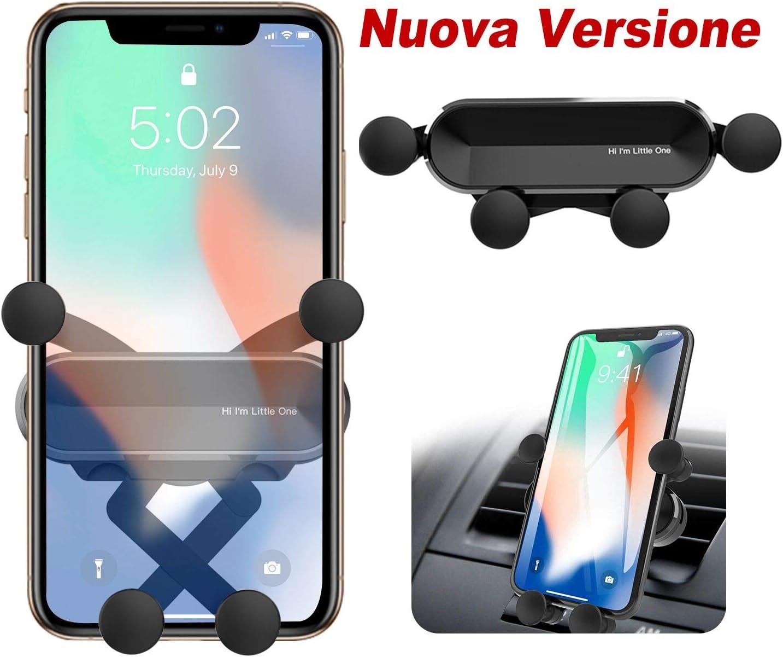 ORYCOOL Soporte Móvil para Coche, Soporte Teléfono Coche para Rejillas del, Porta Universal para teléfono Gravity, Compatible con iPhone 11 Pro MAX, Samsung, Huawei, Xiaomi(para 4.7 '' a 6.5 '')