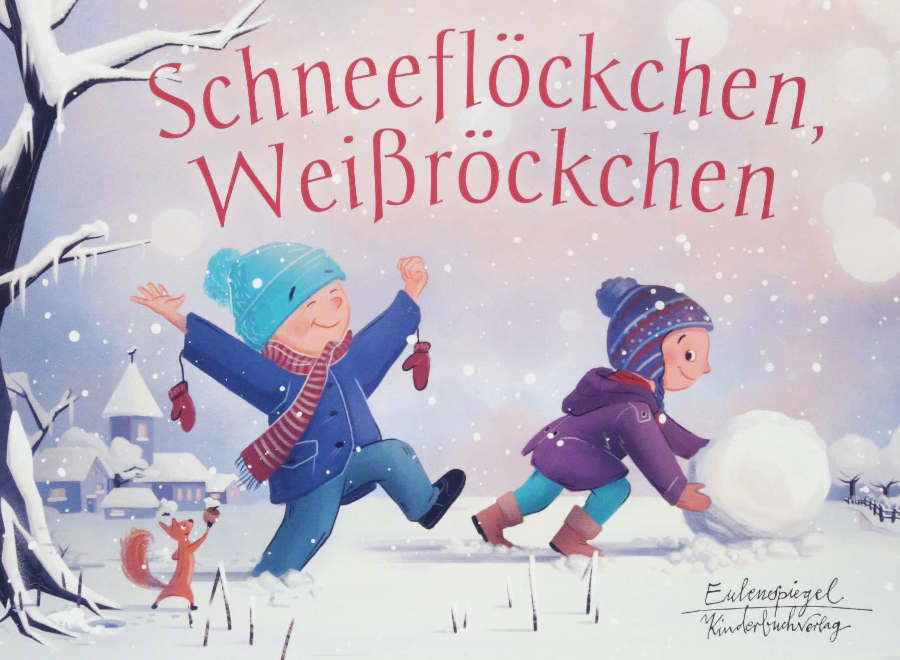 Schneeflöckchen Weißröckchen Eulenspiegel Kinderbuchverlag Amazon De Haberkern Hedwig Müller Marc Bücher