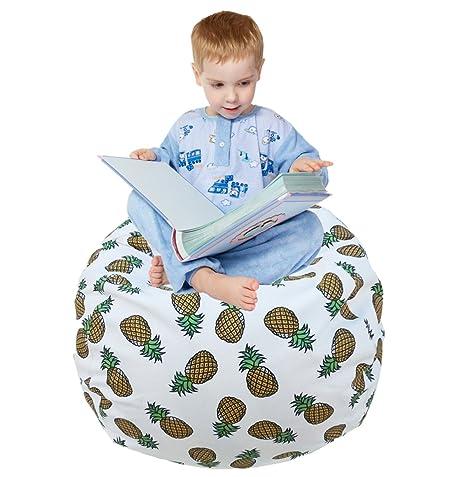 Large Soft Bean Bag Chair Cover, Portable Toys Bag, Convenient Storage  Blankets, Pillowsu0026Toys