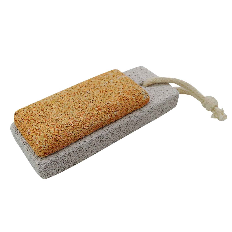 Babila Pumice Stone Rectangular Foot Scrubber Pedicure Foot Care Rasp Tool Callus Remover Peel Of Dead Skin 1 Pc