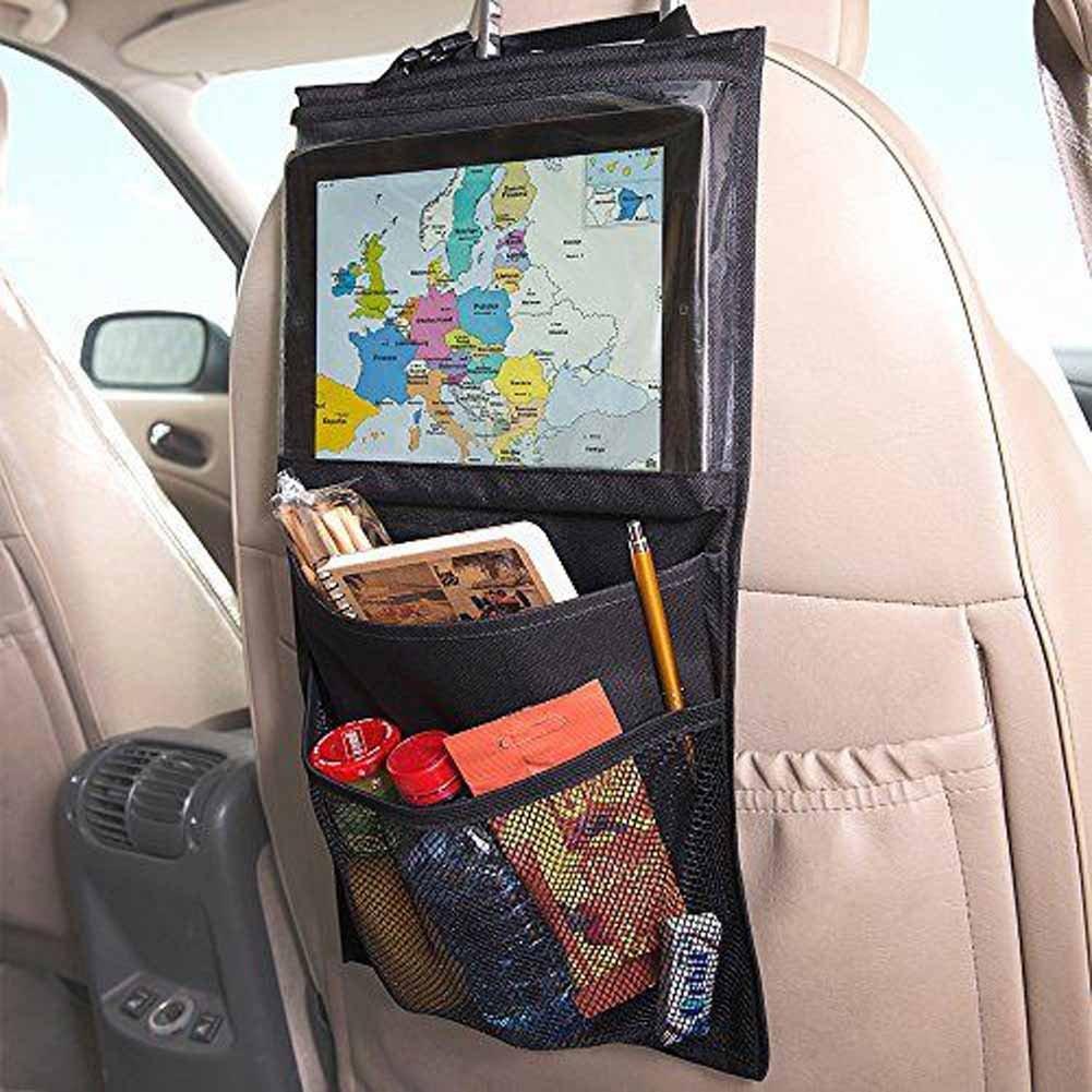 Placa Car Seat Organizer With Ipad Tablet Holder Car Seat Back Protector Plaka
