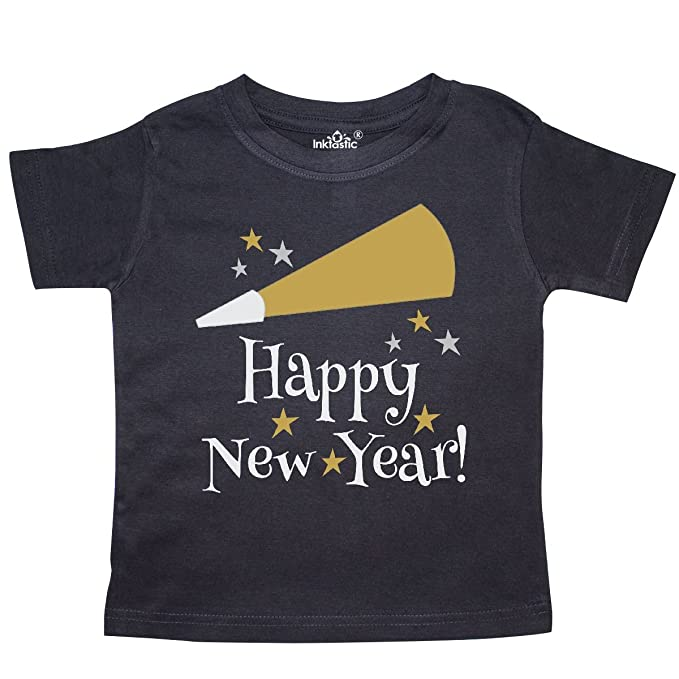b59c306ce Amazon.com: inktastic - Happy New Year Holiday Toddler T-Shirt 20813 ...