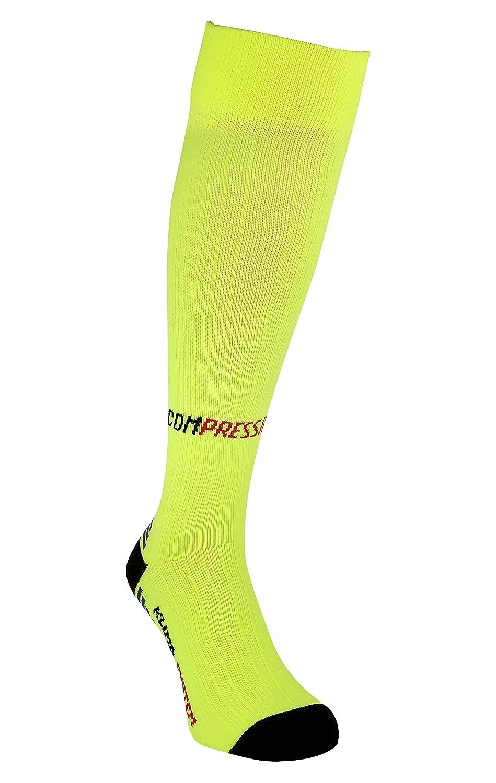 Hommes et Femme Hautes Longues Bas de Contention Chaussettes Compression pour Sport Cyclisme et Running