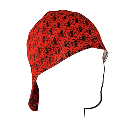 amazon com zanheadgear welder cap with skull pattern design red