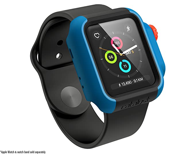 new arrival 6ea66 86a54 Catalyst Apple Watch Case 38mm Series 3 & Series 2 Drop Proof Shock Proof  Impact Protection Apple Watch case [Rugged iWatch Protective case], ...