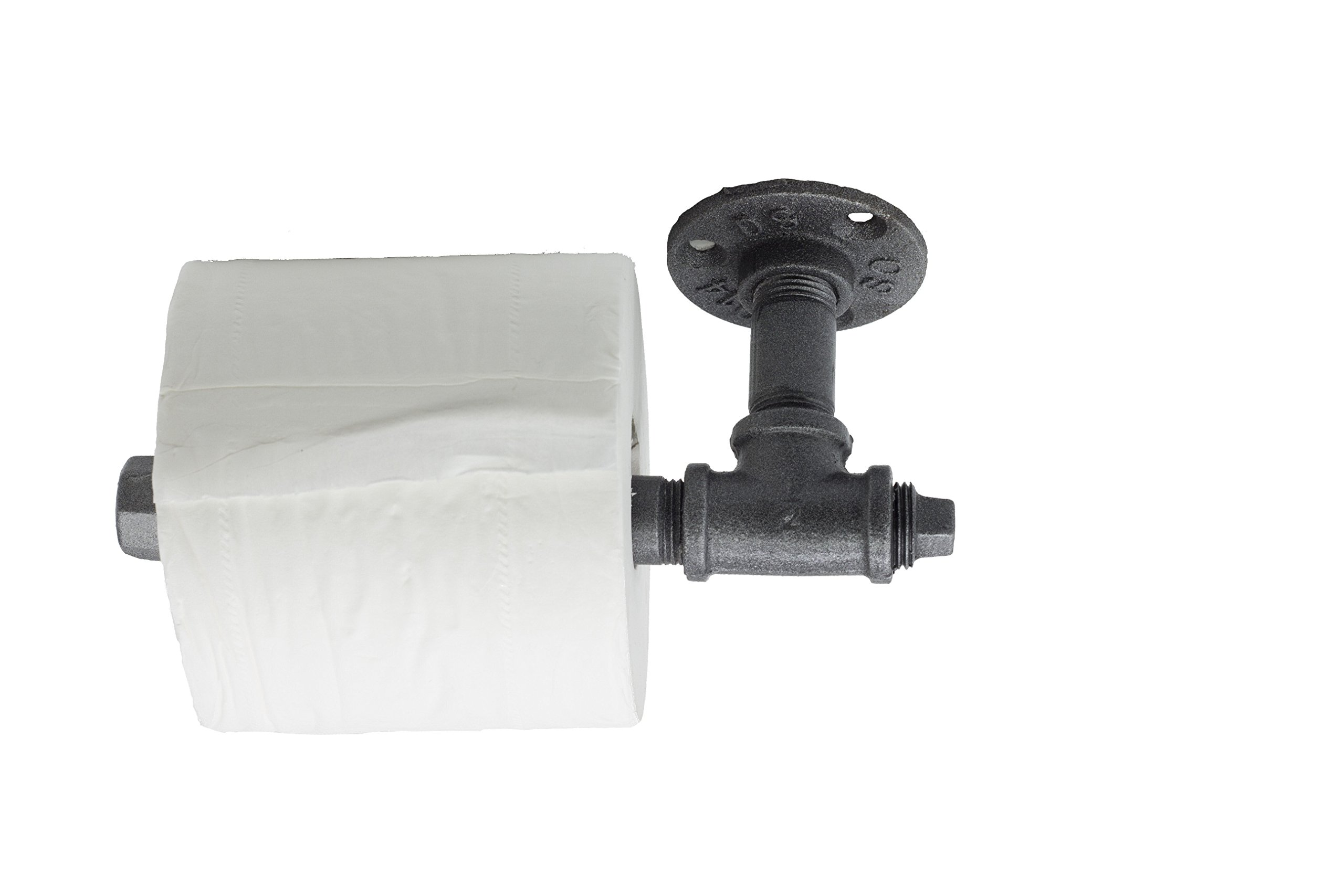 Y-Nut Industrial Vintage Toilet Paper Holder, Leon, Steampunk Toilet Paper Dispenser TPD-001 3
