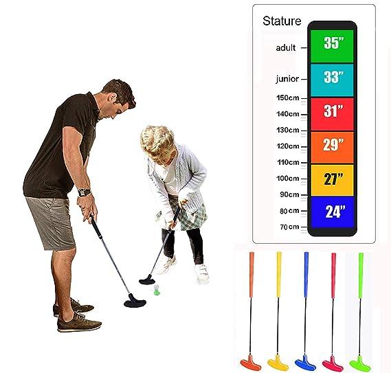 crestgolf Mini Golf Putter, Kids Juego de golf, seis colores ...