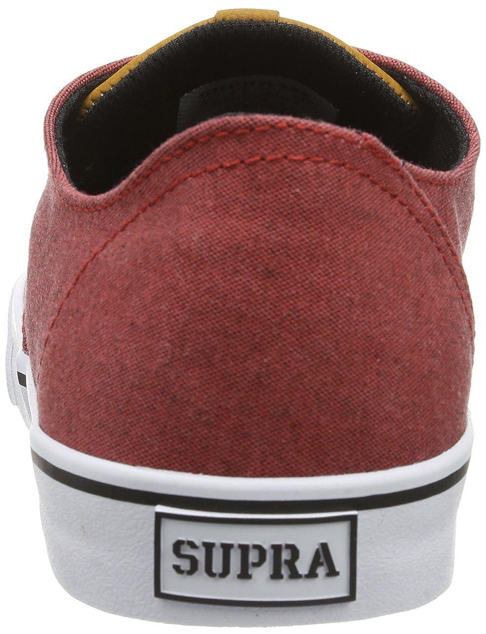 Supra WRAP S05039 Unisex Erwachsene SneakerRot (ROT Spice Spice (ROT Weiß ... ada9c3
