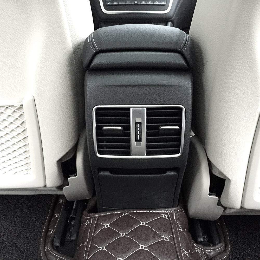 AUTO Pro para Mercedes Benz A B GLA CLA Clase C117 W117 W176 AMG Coche ABS plástico Cromado Row Aire Acondicionado ventilación Trim Accesorios Mate Plata