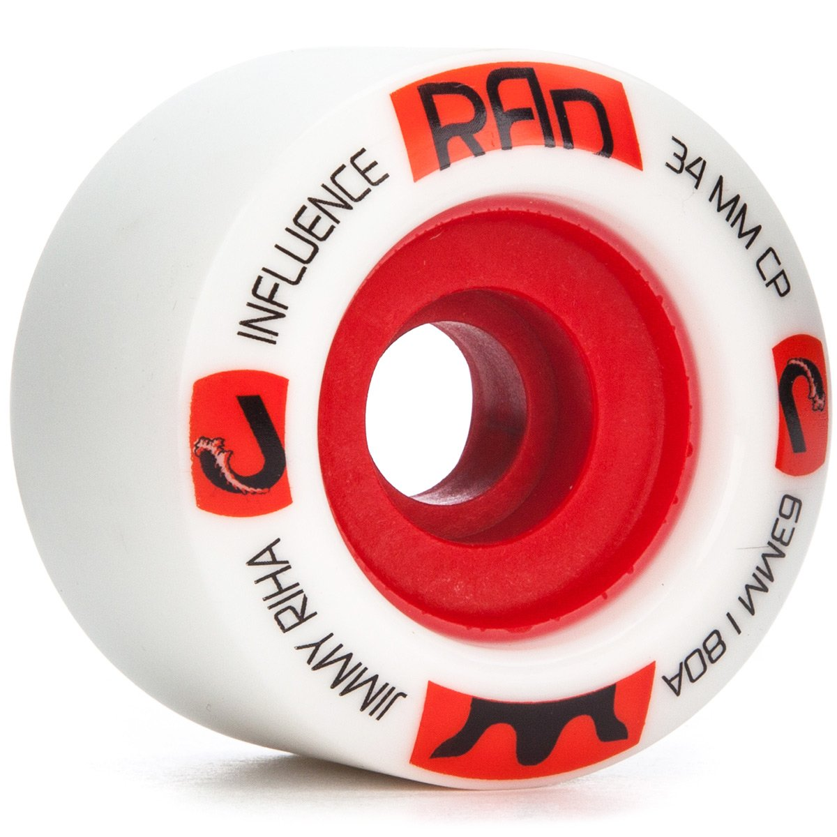 Rad Influence Jimmy Riha Pro Longboard Wheels – 63 mm 80 a   B07BR93MWP
