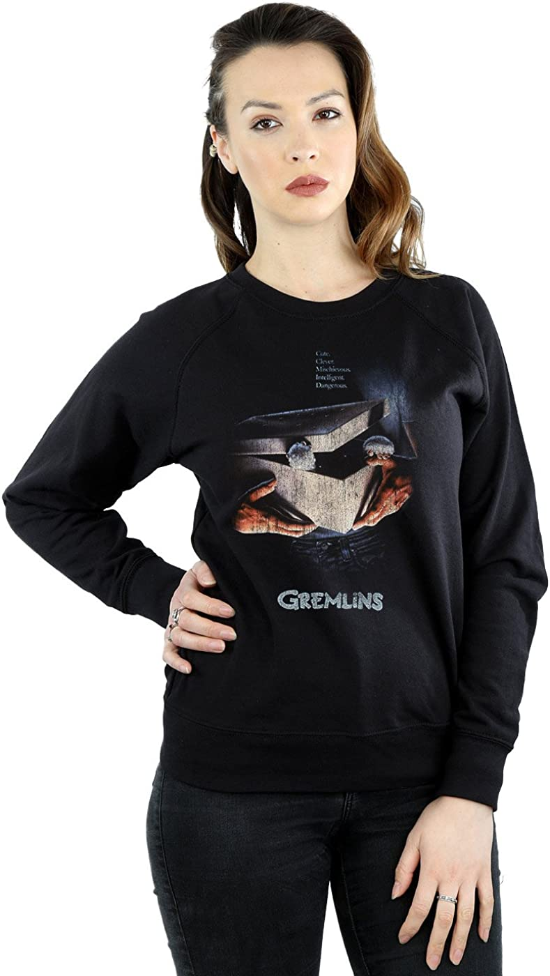 Gremlins Women's Gizmo Distressed Poster Sweatshirt at