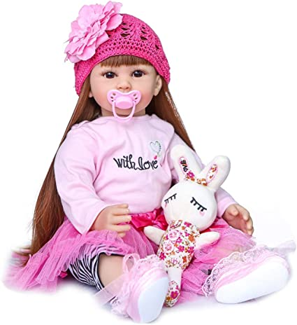 Reborn Baby Doll Clothes Toddler Doll Outfit Accessories for 24~24 inch Doll