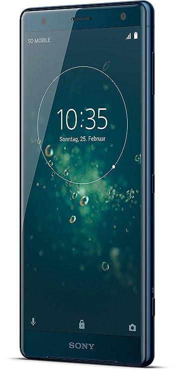Sony Xperia XZ2 Smartphone (14,5 cm (5,7 Zoll) IPS Full HD+ Display, 64 GB interner Speicher und 4 GB RAM, Dual-SIM, IP68, An