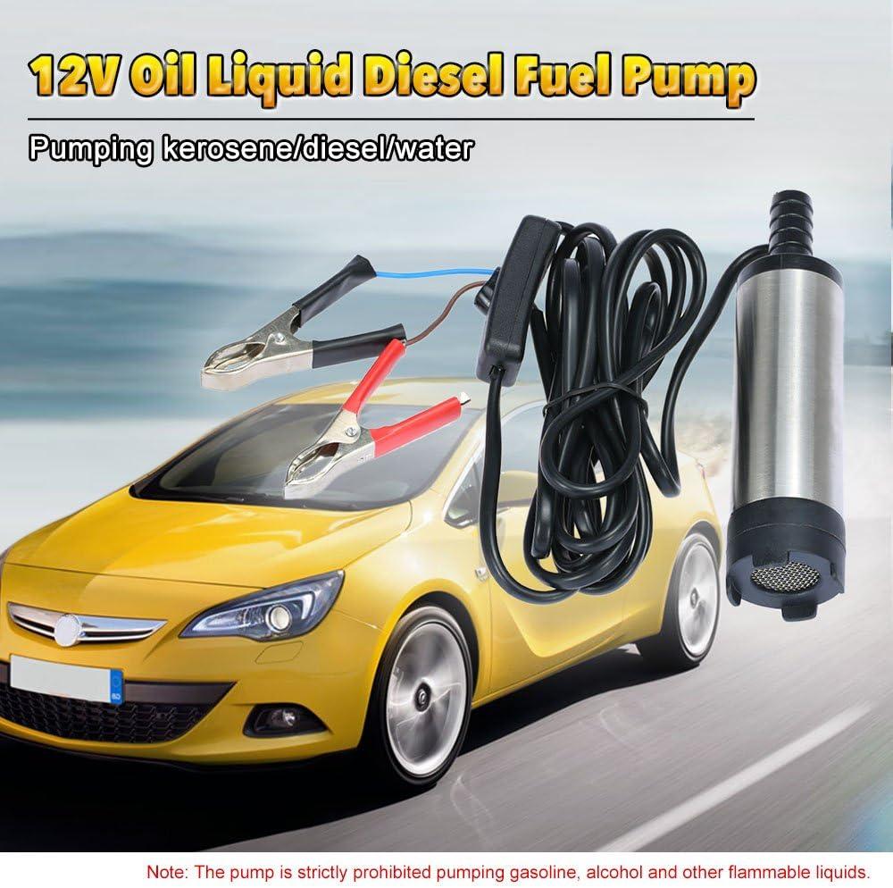 Kkmoon Diesel Kraftstoff Wasserpumpe 12v Für Auto Lkw Caravan Marine Boot Auto