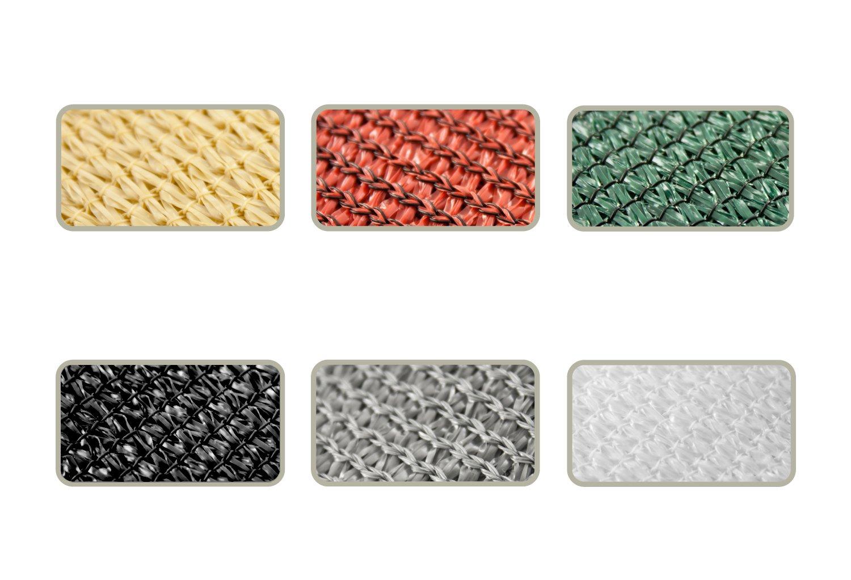 Corasol COR10RA36-WG Premium Premium Premium Sonnensegel 3,6 x 3,6 x 5 m, 90 Grad Dreieck, waldgrün 1b4ba4