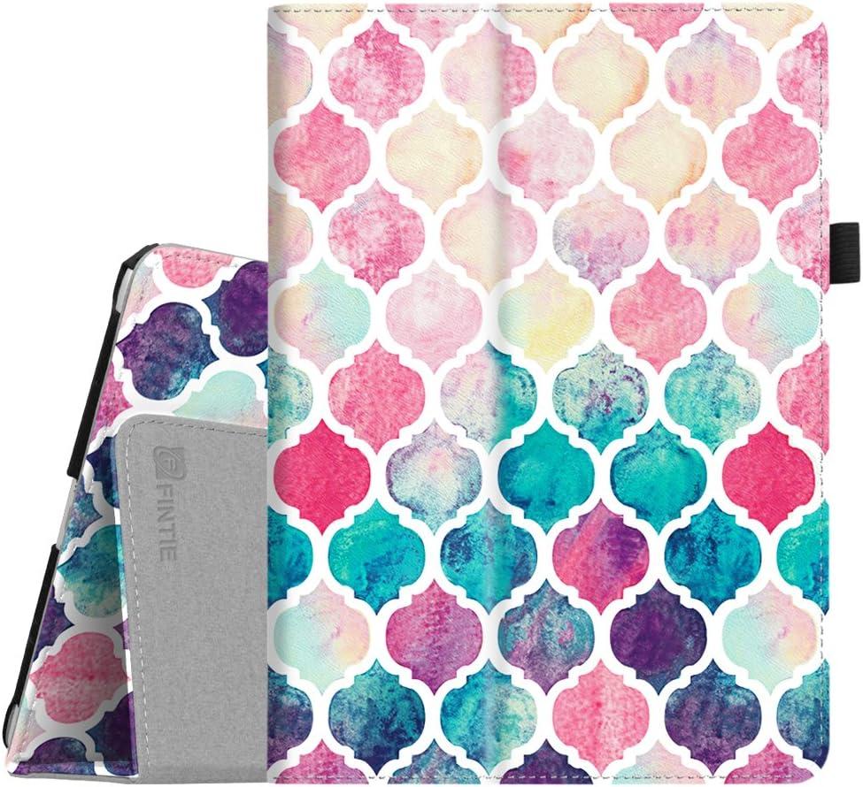 Fintie Case for iPad 9.7 2018/2017, iPad Air 2, iPad Air - [Corner Protection] Premium Vegan Leather Folio Stand Cover, Auto Wake/Sleep for iPad 6th / 5th Gen, iPad Air 1/2, Moroccan Love